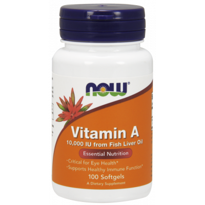 Vitamin A 10 000 IU Softgels (from fish liver retinol)
