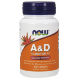 Vitamin A & D 10 000 IU / 400 IU Softgels