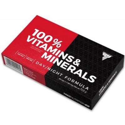 100% Vitamins & Minerals