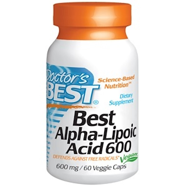 Best ALA Alpha Lipoic Acid -  600mg