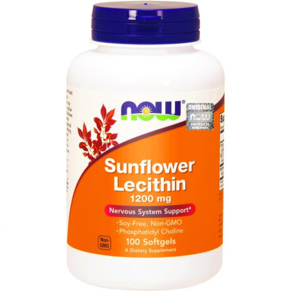 Sunflower Lecithin 1200mg