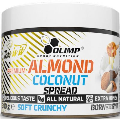 Almond Coconut Spread Soft Crunchy
