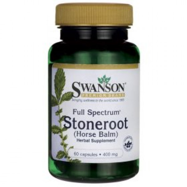 Stoneroot (Horse Balm) 400 mg