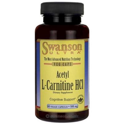 Acetyl L-Carnitine HCL 500mg