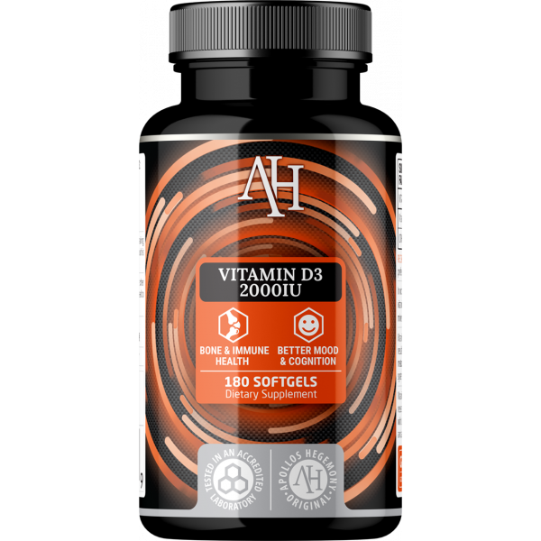 Vitamin D3 2000 IU (gelcaps)