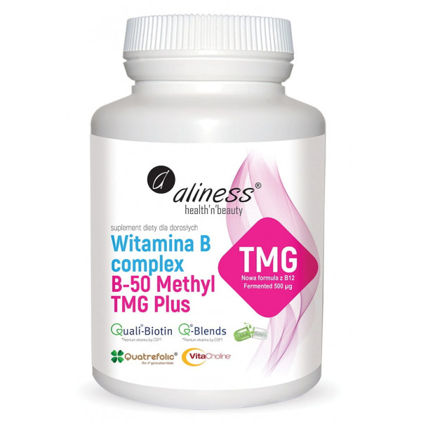 Witamina B Complex B-50 Methyl	(plus tmg)