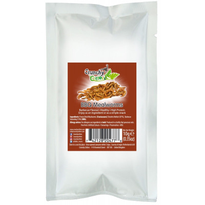 Crunchy Critters (BBQ Mealworms)