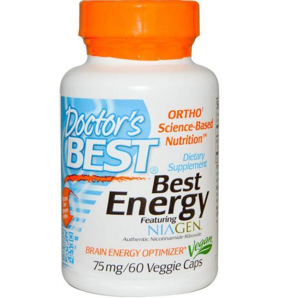 Best Energy featuring NIAGEN 75mg