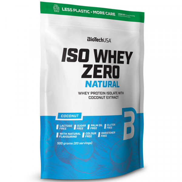 Iso Whey Zero NATURAL (z ekstraktem z kokosa)