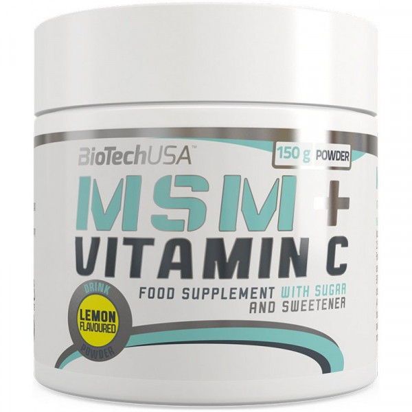 MSM + Vitamin C powder