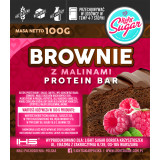 Brownie z malinami Protein Bar