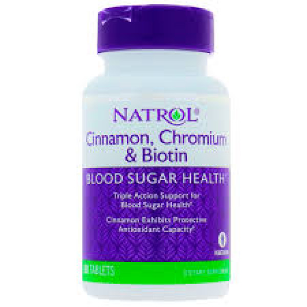 Cinnamon Biotin Chromium