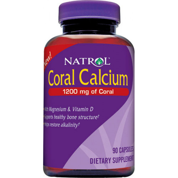 Coral Calcium & Magnesium Chelate with Vitamin D3