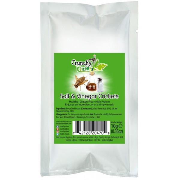 Crunchy Critters (Salt & vinegar crickets)