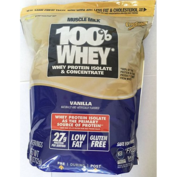 Muscle Milk 100 % Whey