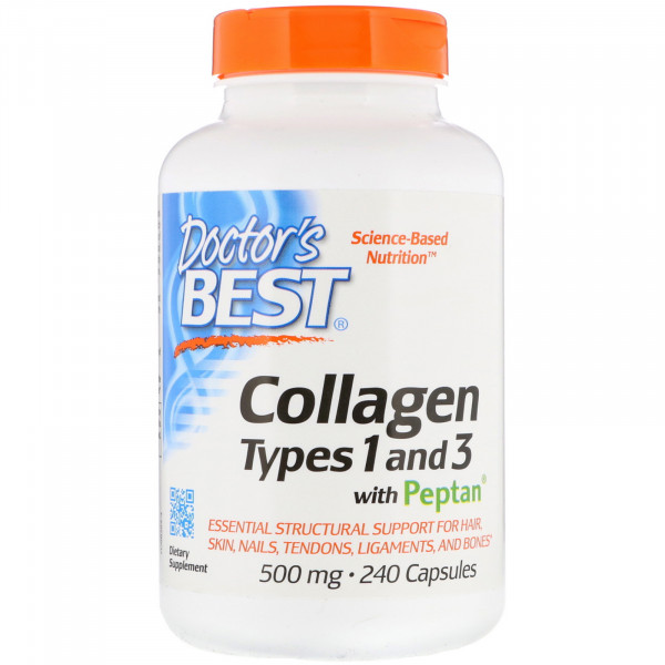 Collagen Types 1 & 3 with Peptan 500mg (caps)