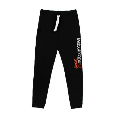 WU&S Spodnie dresowe czarne testosterone.pl