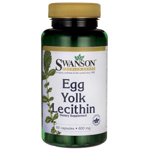 Egg Yolk Lecithin 600mg (lecytyna)
