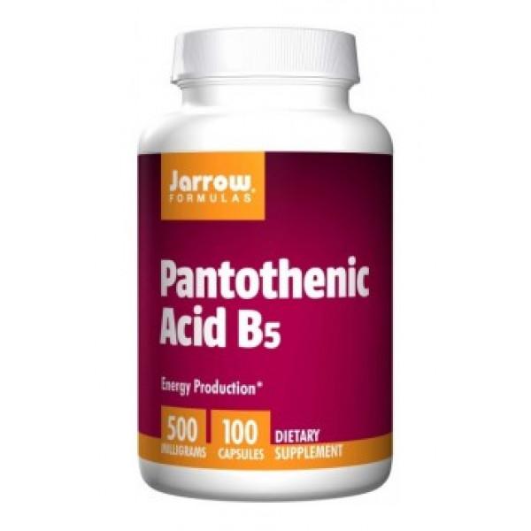 Pantothenic Acid (Vitamin B5 - 500mg)