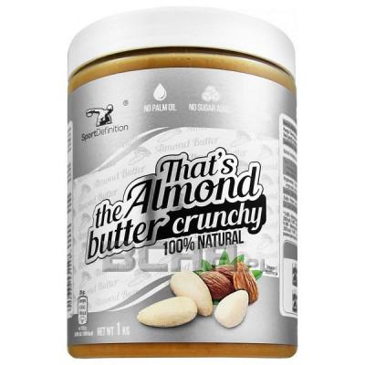 Almond Butter Crunchy