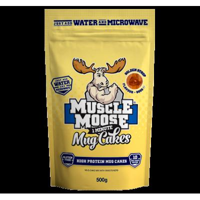 Muscle Moose Mug Cake Golden Syrup deser do mikrofalówki ...
