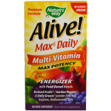 Alive Whole Food Energizer Multi Vitamin no added Iron