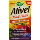 Alive Whole Food Energizer Multi Vitamin no added Iron