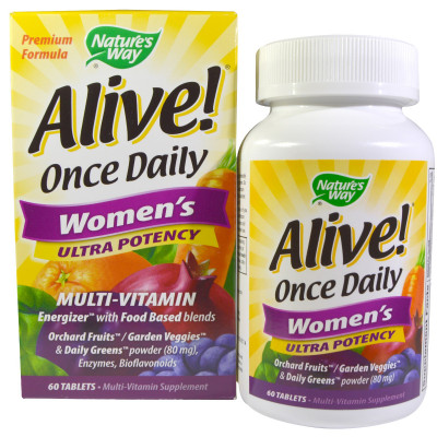 Alive Once Daily Womens