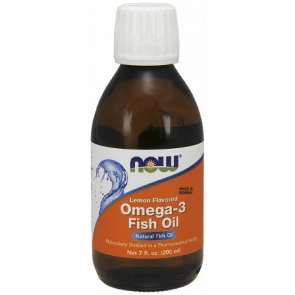 Omega-3 Fish Oil w płynie