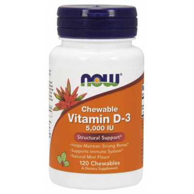 Vitamin D3 5000 IU (chewables with xylitol)