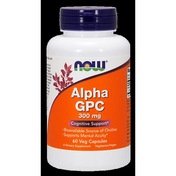 Alpha GPC 300 mg Vegan Caps alfosceran choliny