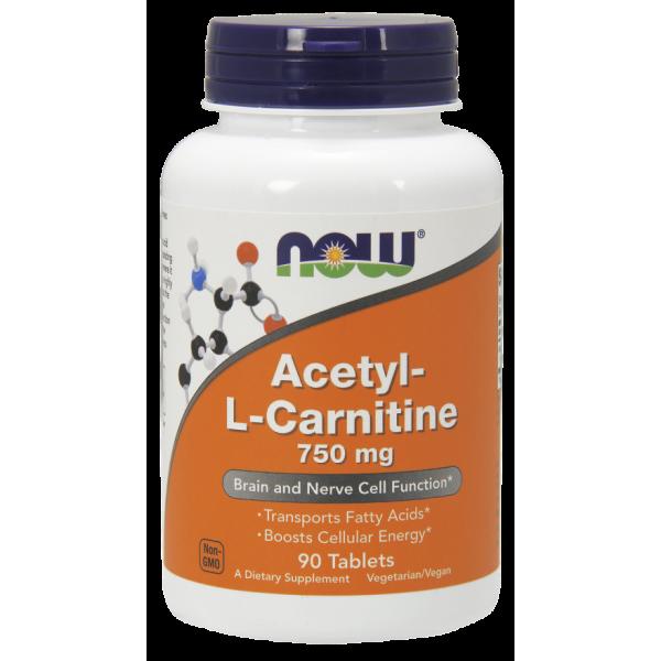 Acetyl-L Carnitine 750 mg Tablets ALC