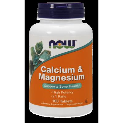Calcium & Magnesium Tablets