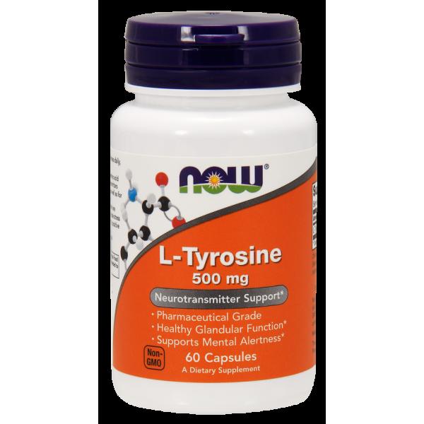 L-tyrosine 750 mg (90 caps)