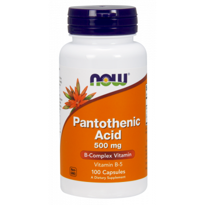 Pantothenic Acid (Vitamin B5 - 500mg)