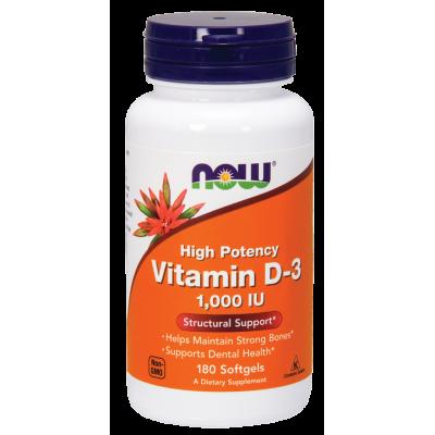 Vitamin D-3 1000IU
