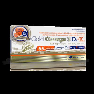 Gold Omega 3 D3 + K2