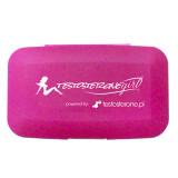 Firmowy Pillbox - Testosterone GIRL  - pudełko na kapsułki tabletki