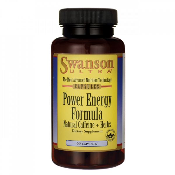 Power Energy Formula - Caffeine + Herbs