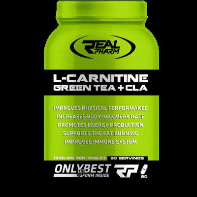 L-CARNITINE GREEN TEA & CLA