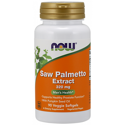 Saw Palmetto Extract with Pumpkin Seed Oil 320mg