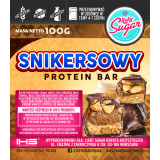 Snikersowy Protein Bar