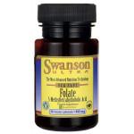Folian Methyl Folate Quatrefolic 800 mcg (5-MTHF)