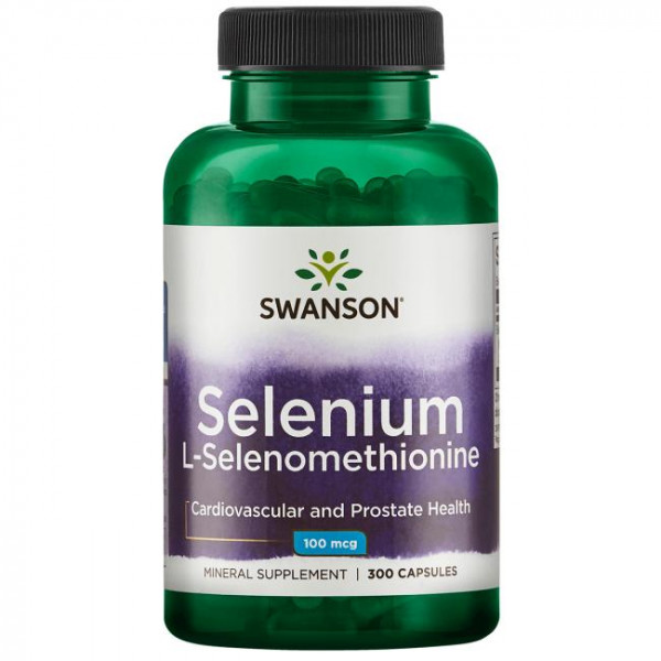 Selen (l-selenometionina) 100mcg