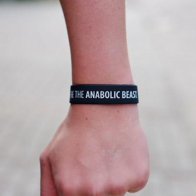 Opaska treningowa na rękę - BE THE ANABOLIC BEAST