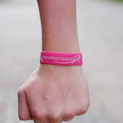 Opaska treningowa na rękę - TESTOSTERONE GIRL