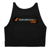 Wake Up & Squat TEAM BRA TOP ACTIVE Testosterone.pl
