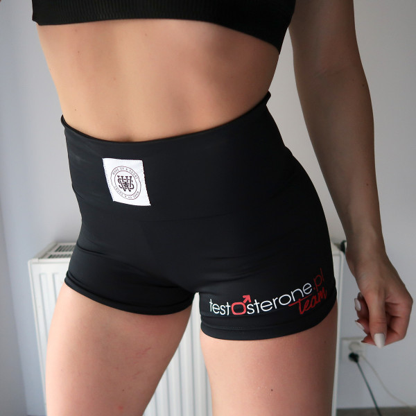 Wake Up & Squat Testosterone.pl TEAM SHORTS SPODENKI