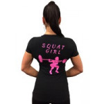 XXL Nutrition Women Shirt Squat Girl