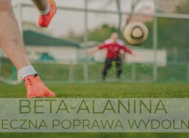 Beta-alanina – skuteczna poprawa wydolności!